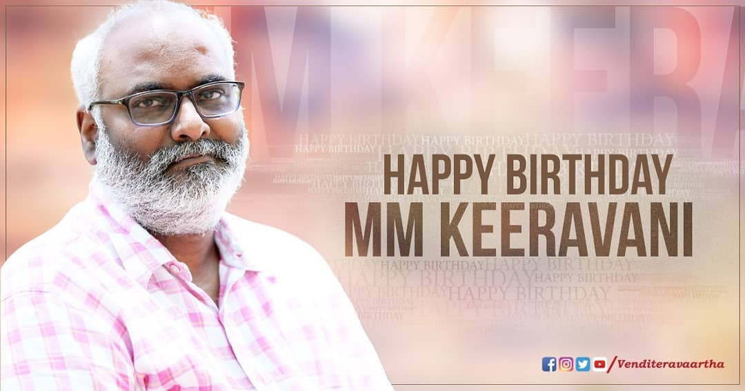 M.M. Keeravani Movies Music, News and Updates