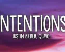 Intentions Song Lyrics -Justin Bieber ft.Quavo
